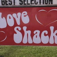 Photo taken at The Love Shack by Jason M. on 9/30/2013