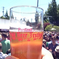 Photo taken at Portland Fruit Beer Festival #pfbf by Nick G. on 6/7/2014