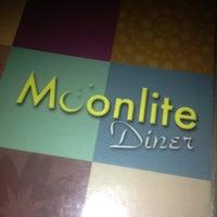 Photo taken at Moonlite Diner by Brandon on 12/14/2012