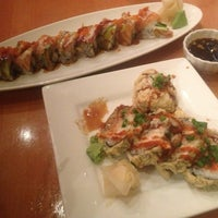Photo taken at Miyabi Sushi by Brandon on 2/1/2013