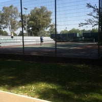 Photo taken at Complexo de Ténis e Padel de Almeirim by Tomás E. on 5/17/2014