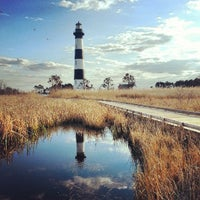 Photo taken at Bodie Island Lighthouse by Crystal T. on 3/29/2013