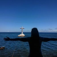 Photo taken at Sunken Cemetery Cross by CAREN on 4/27/2017