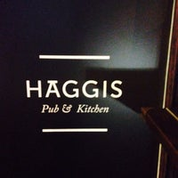 Photo taken at Haggis Pub & Kitchen by Ekaterina Z. on 6/7/2014