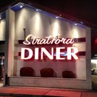 Photo taken at Stratford Diner by Chris M. on 12/15/2012