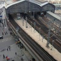 Photo taken at Berlin Friedrichstraße Railway Station by Stefan B. on 1/18/2014