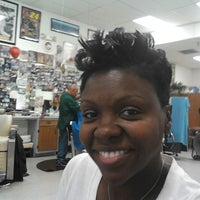 Photo taken at Fields Good Barber And Beauty Shop by Karlett D. on 7/5/2013