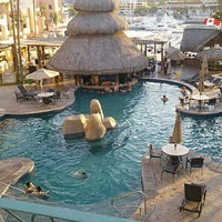 Photo taken at Marina Fiesta Resort & Spa by Mariana D. on 8/11/2013