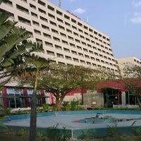 Photo taken at Sheraton Abuja Hotel by Nick on 2/28/2013