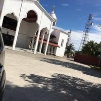 Photo taken at Masjid Agung Al-Falah by Imam F. on 6/28/2017