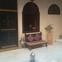 Photo taken at Riad Yacout by Philip R. on 6/6/2014