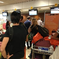 Photo taken at easyJet Check-In by Philip R. on 8/22/2013