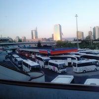 Photo taken at AŞTİ Metro Turizm Peronu by Sercan K. on 8/10/2013