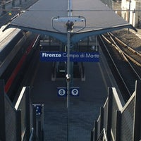 Photo taken at Firenze Campo di Marte Railway Station (FIR) by Nadia C. on 7/13/2012