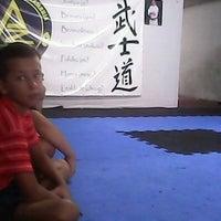 Photo taken at Escola de Jiu-Jitsu Azambuja Behring by Mateus D. on 2/6/2014