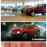 Photo taken at Nissan K.Tepretoğulları Otomotiv A.ş by Yonca E. on 3/26/2014