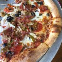 Photo taken at Basil's Pizza by Susan B. on 9/24/2015