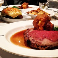 Photo taken at Rib N Reef Steakhouse by Menelaos K. on 12/8/2014