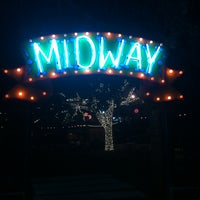 Photo taken at The Midway Food Park by Carlee M. on 9/29/2013