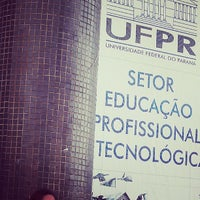 Photo taken at UFPR - Universidade Federal do Paraná by Nathasha F. on 8/20/2013