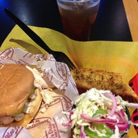 Photo taken at Moe's Original BBQ by Michael M. on 9/2/2013
