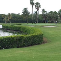 Photo taken at Crandon Golf at Key Biscayne by Mark S. on 11/29/2013