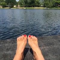 Photo taken at Stolberg Lake by Julie D. on 6/3/2014