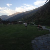 Photo taken at Camping Frontera by Meltem Ö. on 7/17/2014