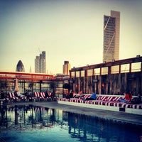 Photo taken at Shoreditch House by Omid A. on 5/2/2013