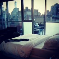 Photo taken at Hotel on Rivington by Omid A. on 4/6/2013