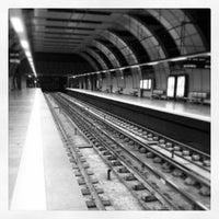 Photo taken at Metro Cabo Ruivo [VM] by Nuno P. on 12/10/2013