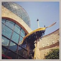 Photo taken at Teatre-Museu Salvador Dalí by Rafael G. on 4/17/2013