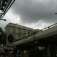 Photo taken at Ratchathewi Intersection by Suden V. on 6/5/2013
