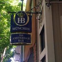 Photo taken at The Amsterdam Bar by John V. on 5/7/2013