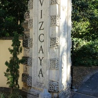 Photo taken at Vizcaya Museum and Gardens by CLau S. on 1/13/2013