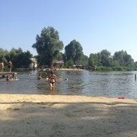 Photo taken at Городской Пляж by Inna R. on 8/9/2013