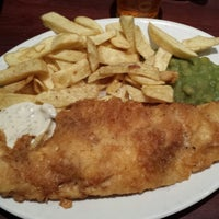 Photo taken at The Ashvale Fish and Chips by Dougal C. on 12/15/2013