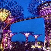Photo taken at Gardens by the Bay by Carlos Miguel L. on 5/19/2013