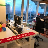 Photo taken at Google Amsterdam by Gert-Jan L. on 5/3/2017