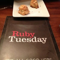 Photo taken at Ruby Tuesday by Cathie R. on 1/5/2013