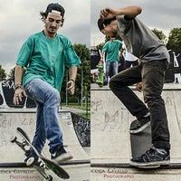 Photo taken at skatepark Rho by Francesca on 2/10/2014