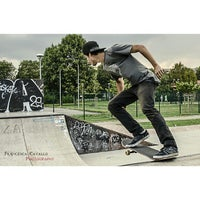 Photo taken at skatepark Rho by Francesca on 10/14/2014