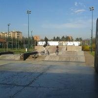 Photo taken at skatepark Rho by Francesca on 3/5/2014