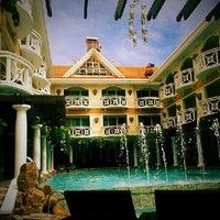 Photo taken at Boracay Mandarin Island Hotel by Ehmjhey S. on 12/22/2013