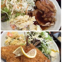 Photo taken at 食事処 おしゃまんべ by misako on 6/4/2015