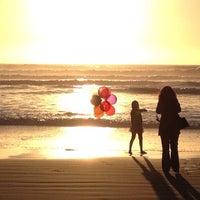 Photo taken at Ocean Beach by BuddhaBen R. on 2/18/2013
