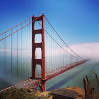 Photo taken at Golden Gate Bridge by Ben R. on 6/7/2013