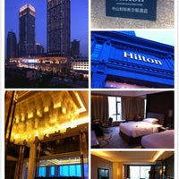 Photo taken at Hilton Zhongshan Downtown by Lim K. on 5/4/2014