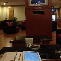 Photo taken at Malaysia Airlines Golden Lounge by Ismail S. on 8/19/2013