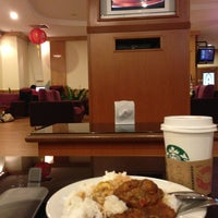 Photo taken at Malaysia Airlines Golden Lounge by Ismail S. on 2/4/2013
